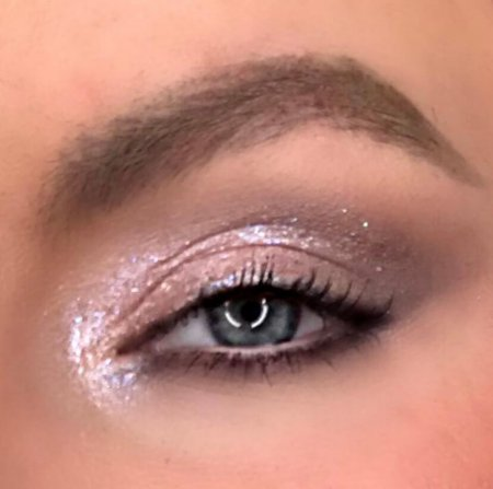 Soft Sparkle Look