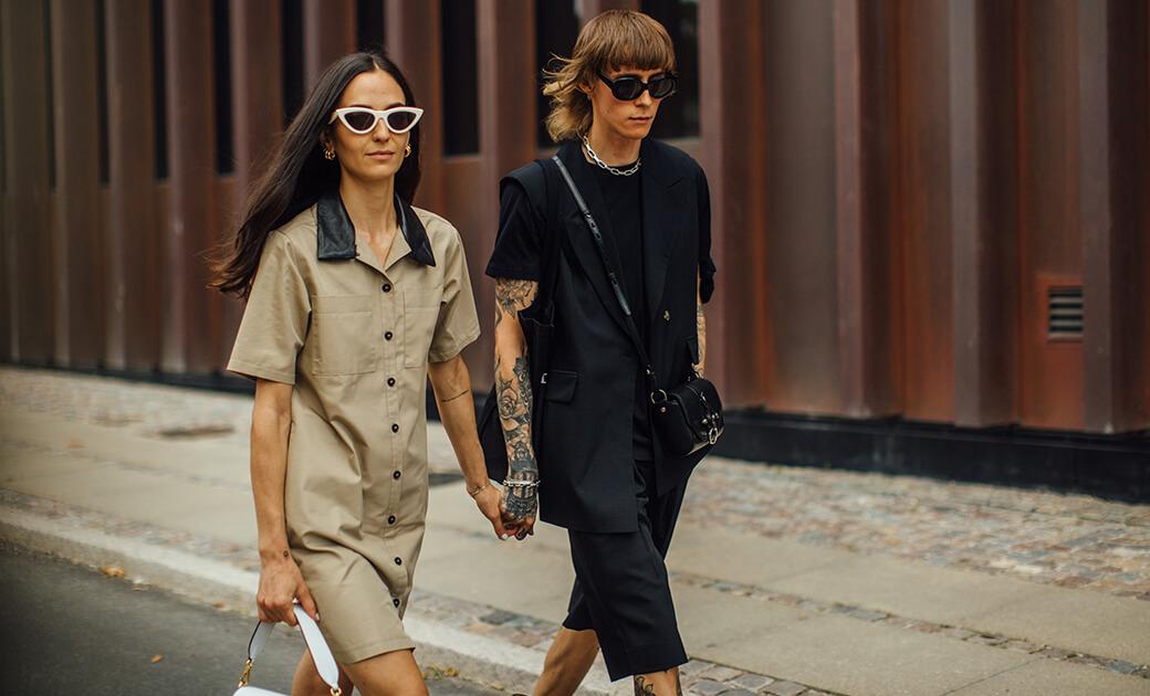 Streetstyle: Couple in Kopenhagen