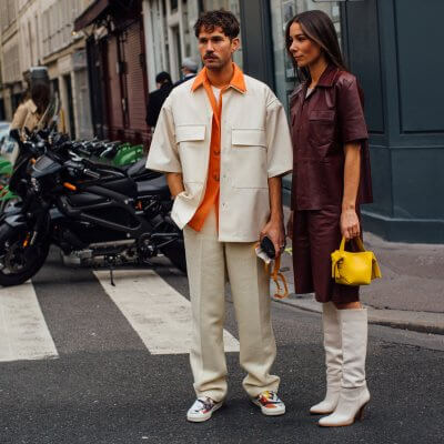 Streetstyle: Couple in Paris