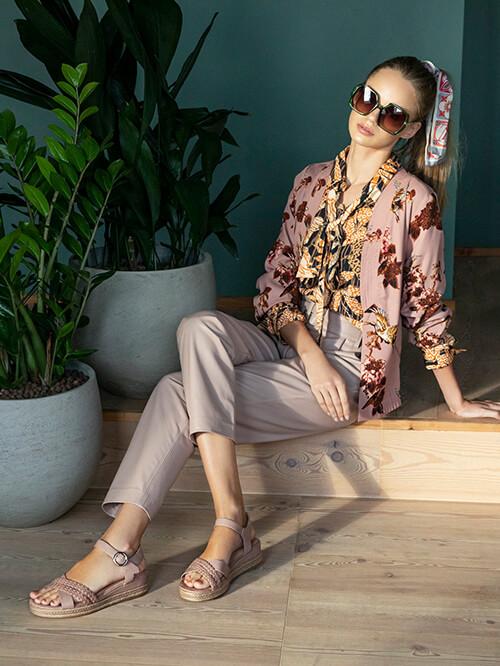 Bast Schuhe Deichmann, Kimono