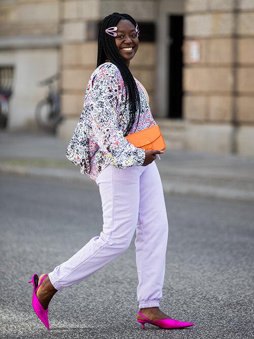 Slingbacks, Streetstyle Lois Opoku