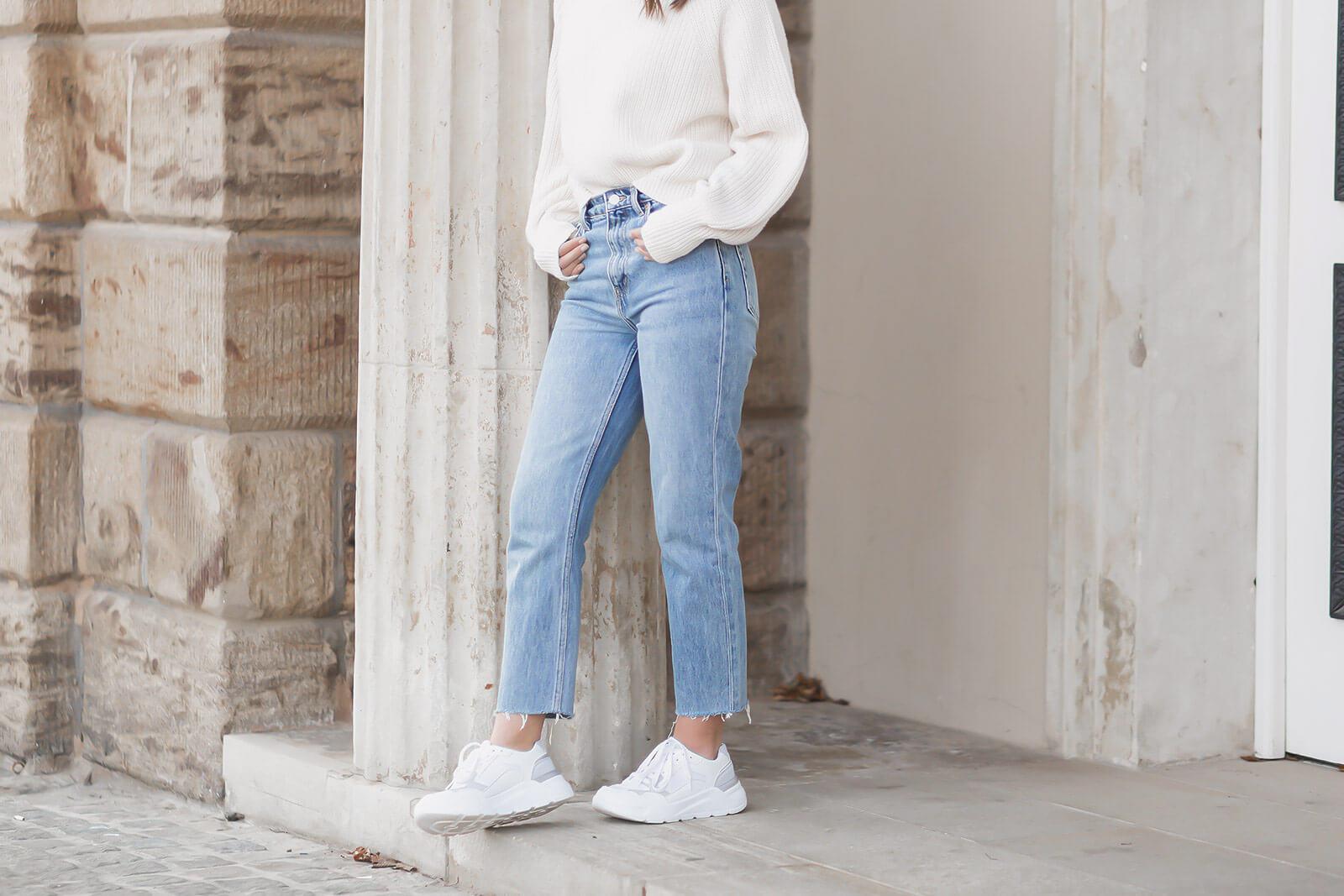 Jeans Trends 2021 - Straight Leg Jeans kombinieren
