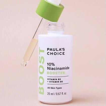 Beispiel eines Niacinamide Produkt