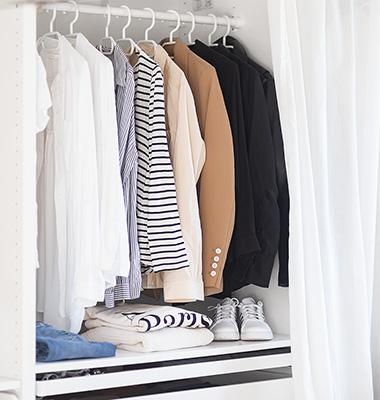 Capsule Wardrobe Anleitung, minimalistischer Kleiderschrank, Shoelove by Deichmann