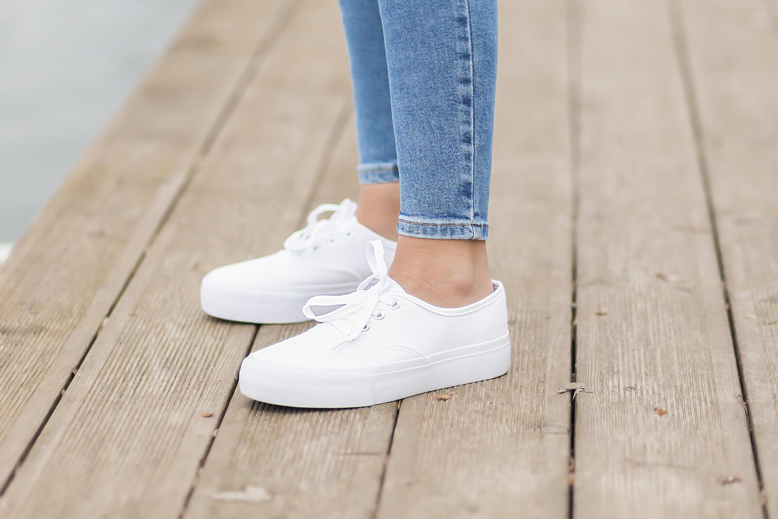 Schuhe für den Übergang, Leinenschuhe, Schuhtrends Frühling 2021, Shoelove by Deichmann