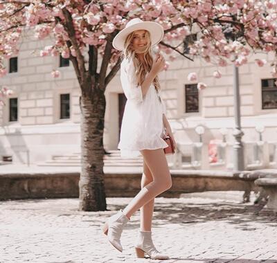 Boho-Stil im Frühling stylen