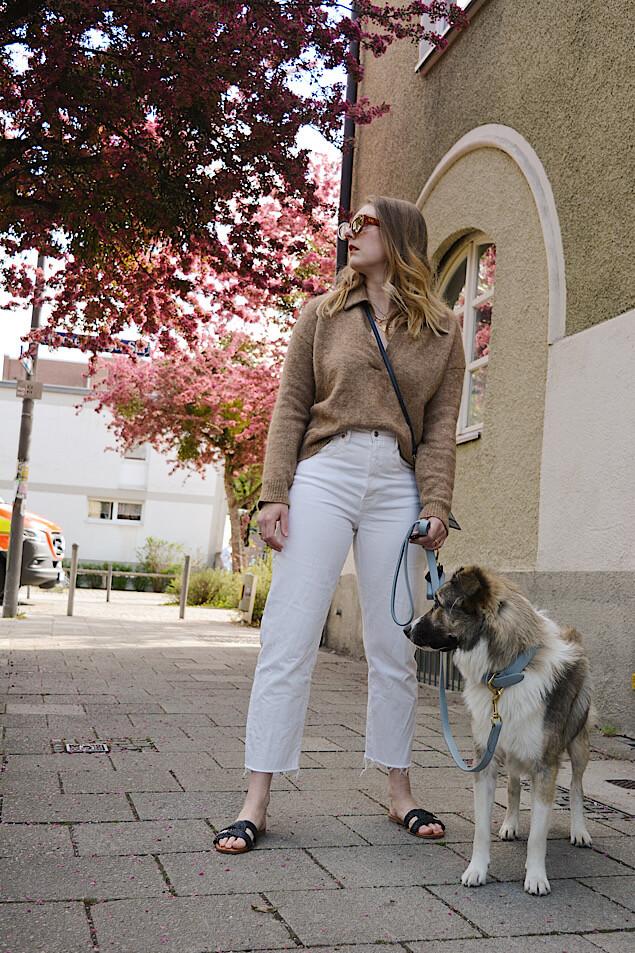 Outfitidee Weiße Jeans kombinieren