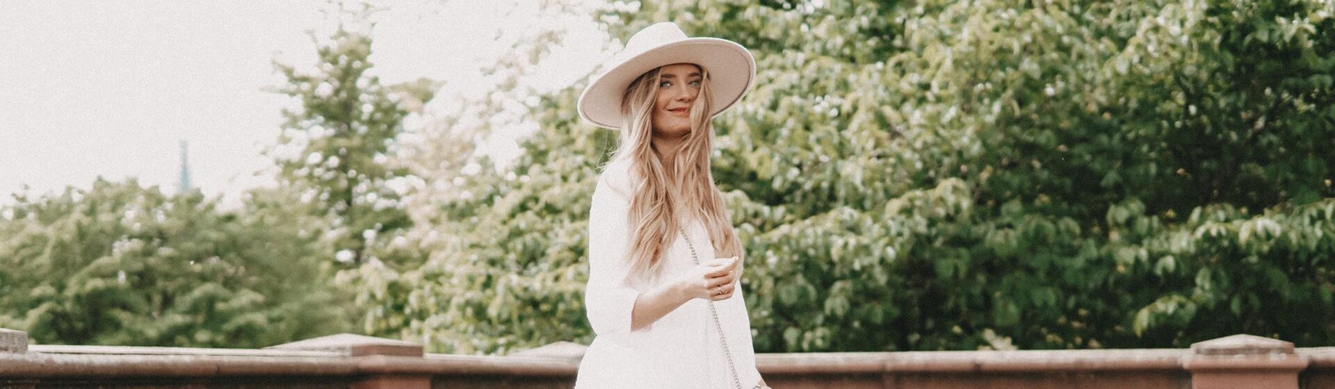 weiße Sommerkleider kombinieren