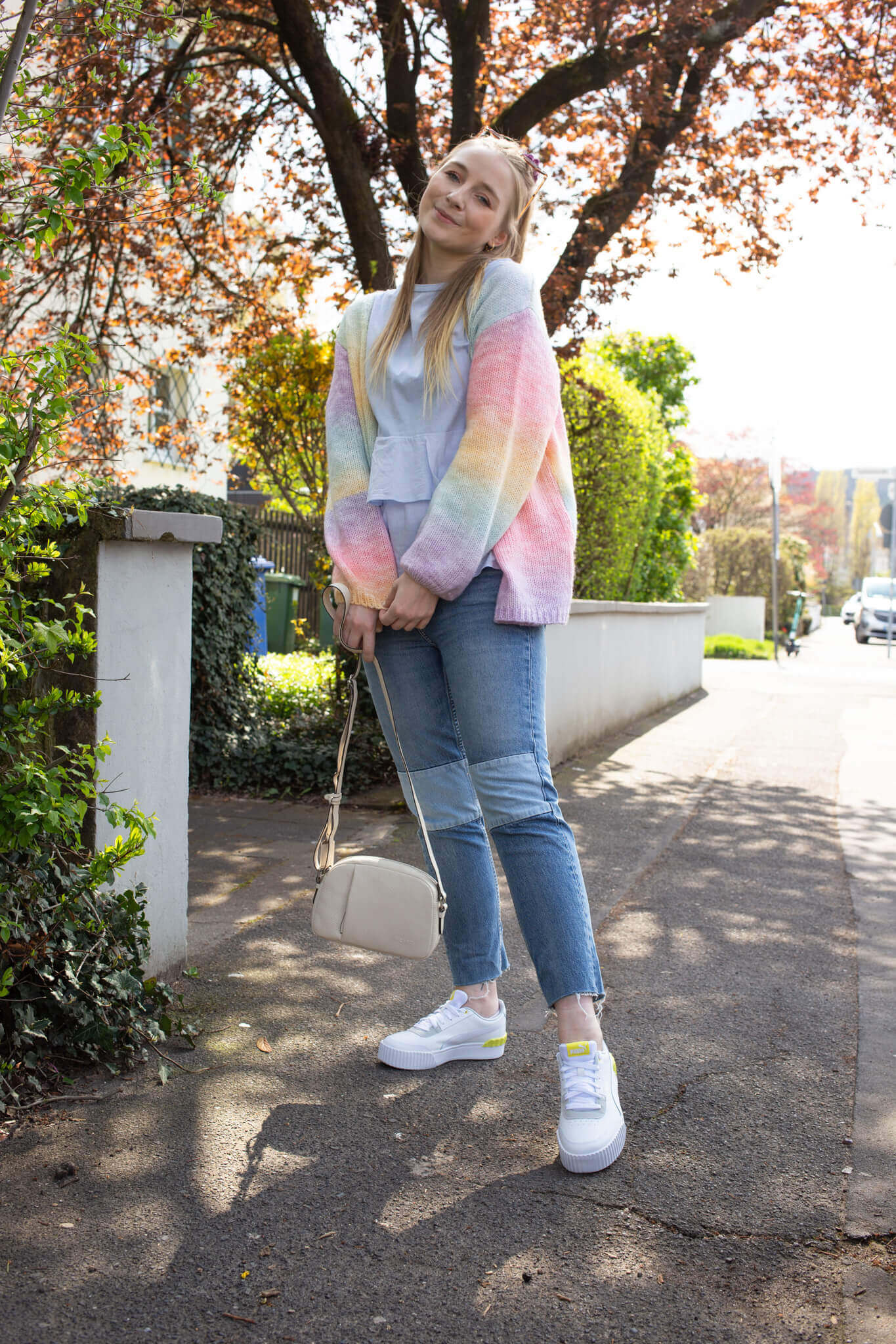 Pastellfarben Trend outfit
