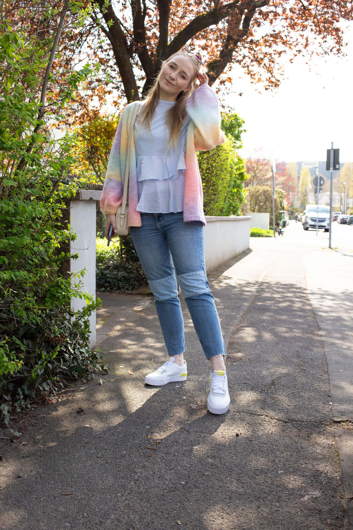 pastellfarben outfit