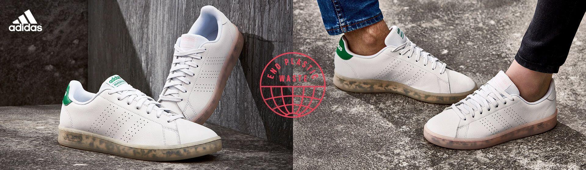 Weniger Plastik in adidas Sneaker