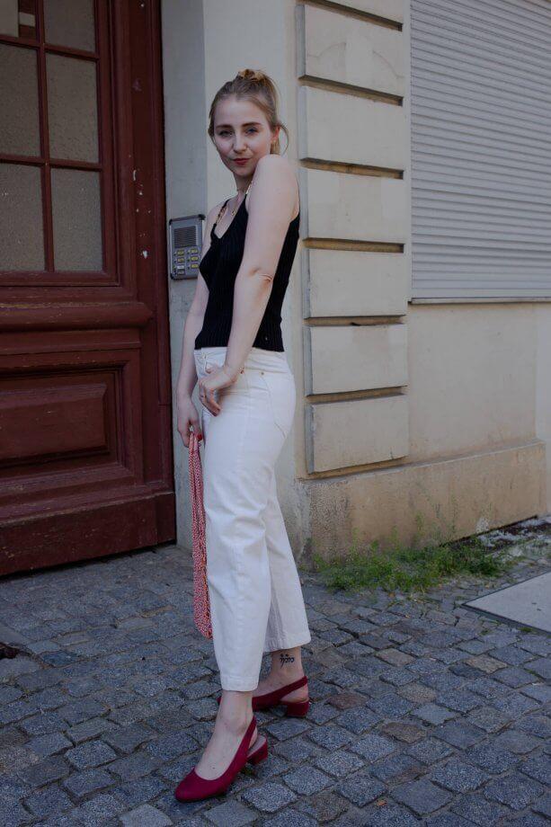 filigraner schmuck outfit