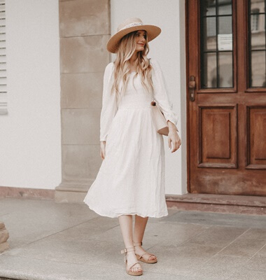 Picknick Outfit im Sommer stylen