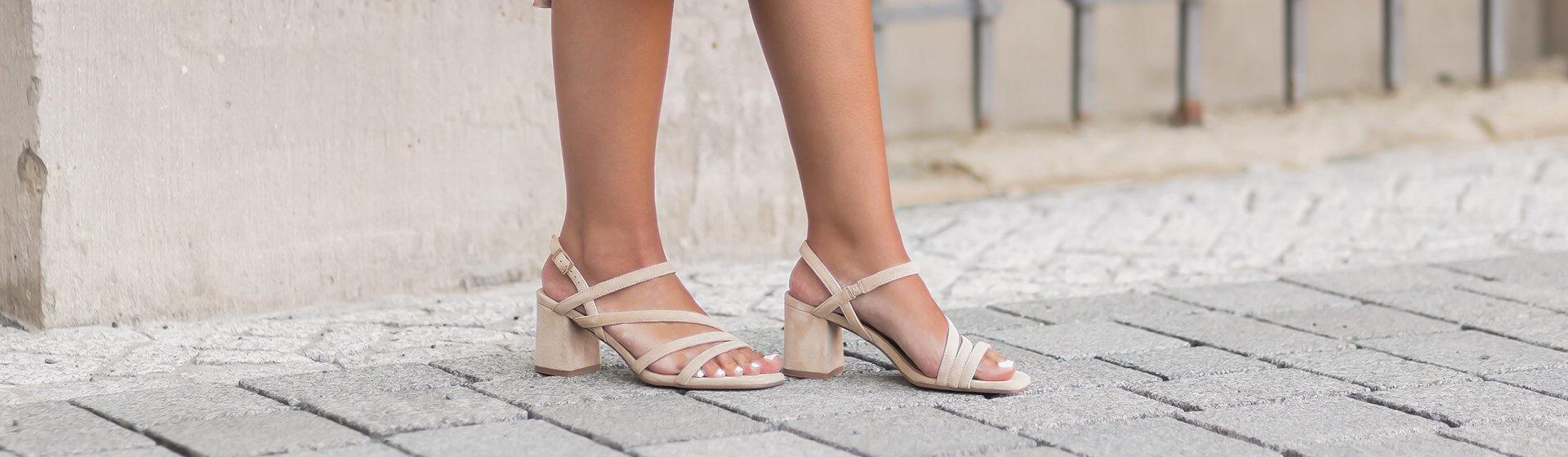 Sandalen zum Sommerkleid stylen, Shoelove by Deichmann