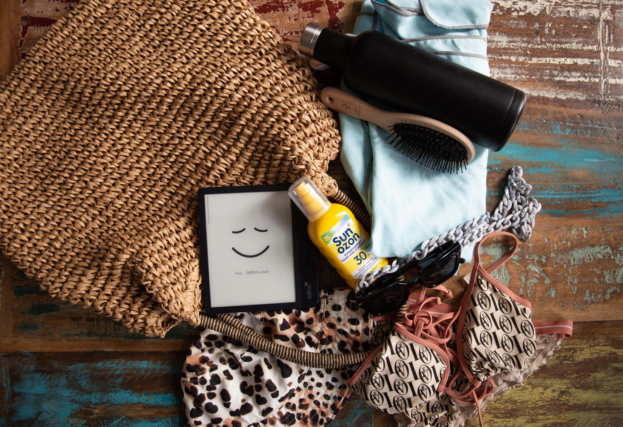 Checkliste strandtasche packen