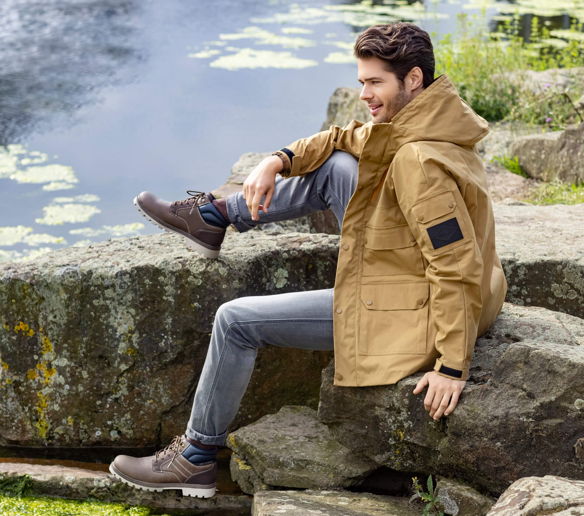 Leder-Boots für Outdoor-Looks