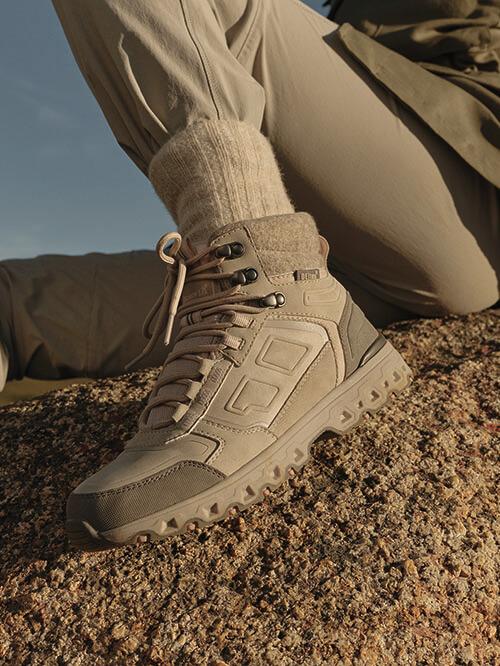 Hiking Boots in Naturfarben
