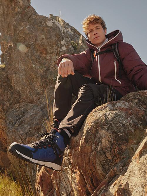 Bergsteigen mit Hiking-Boots
