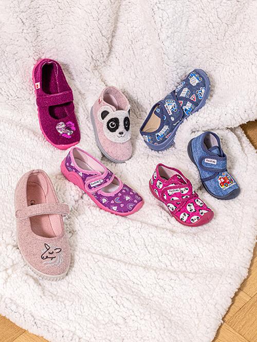 Coole Hausschuhe für Kinder