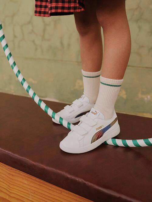 Puma-Sneaker mit Klettverschluss