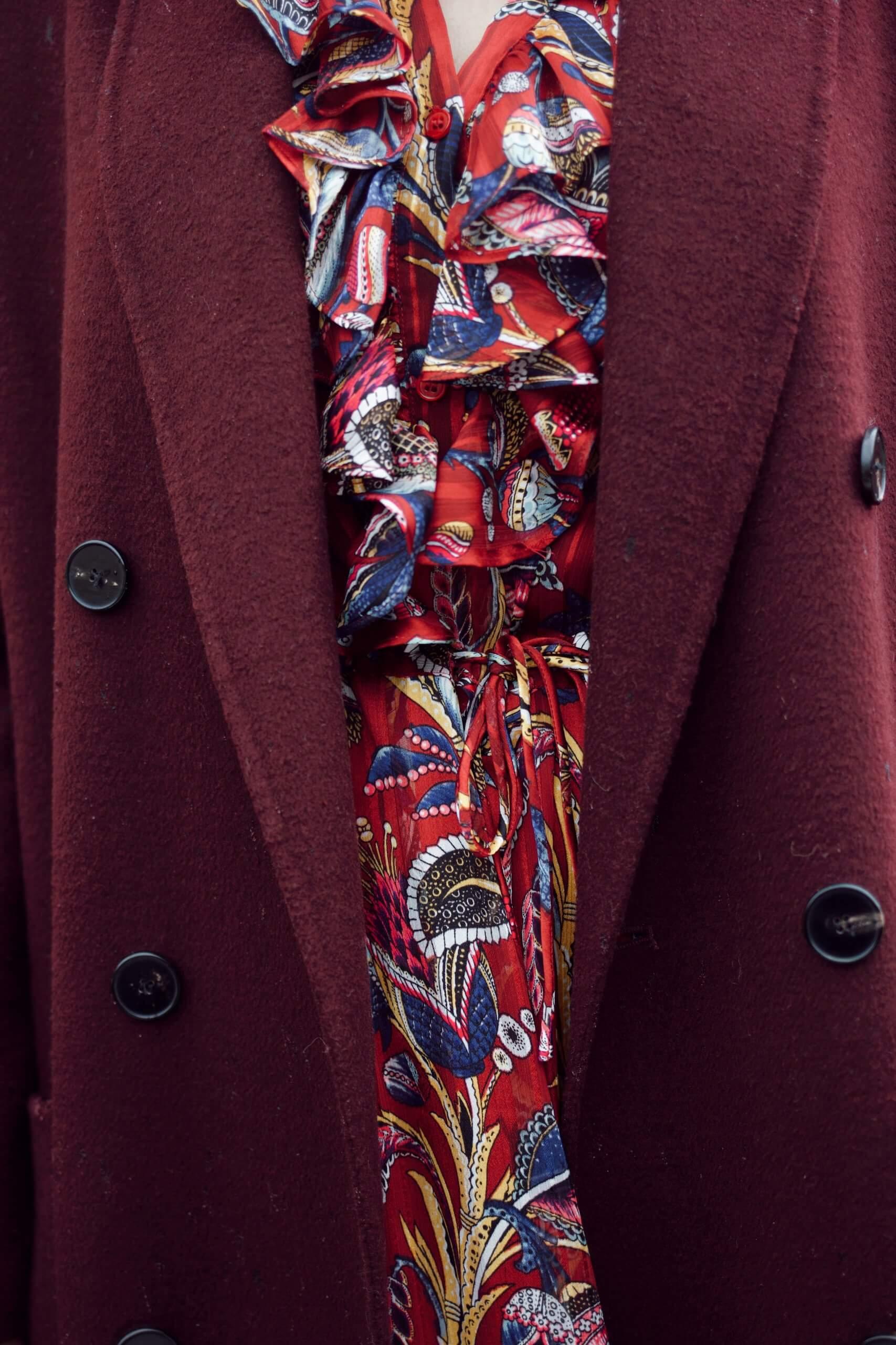 Bordeaux Outfit Details