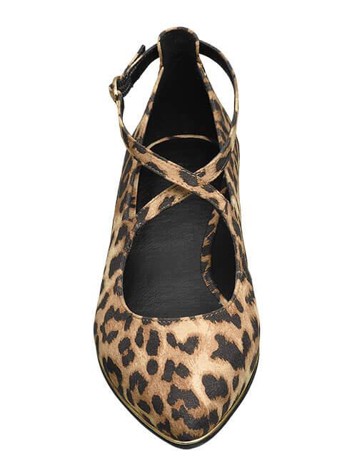 Schuh-Modelle Kreuz-Riemchen Shoe Fashion