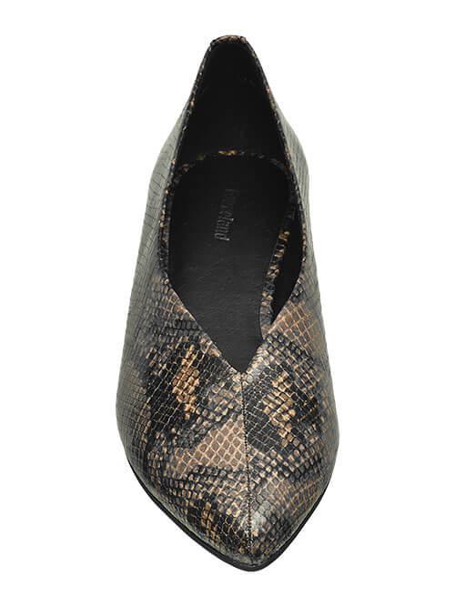 Schuh-Modelle Fuß-Dekollete Shoe Fashion