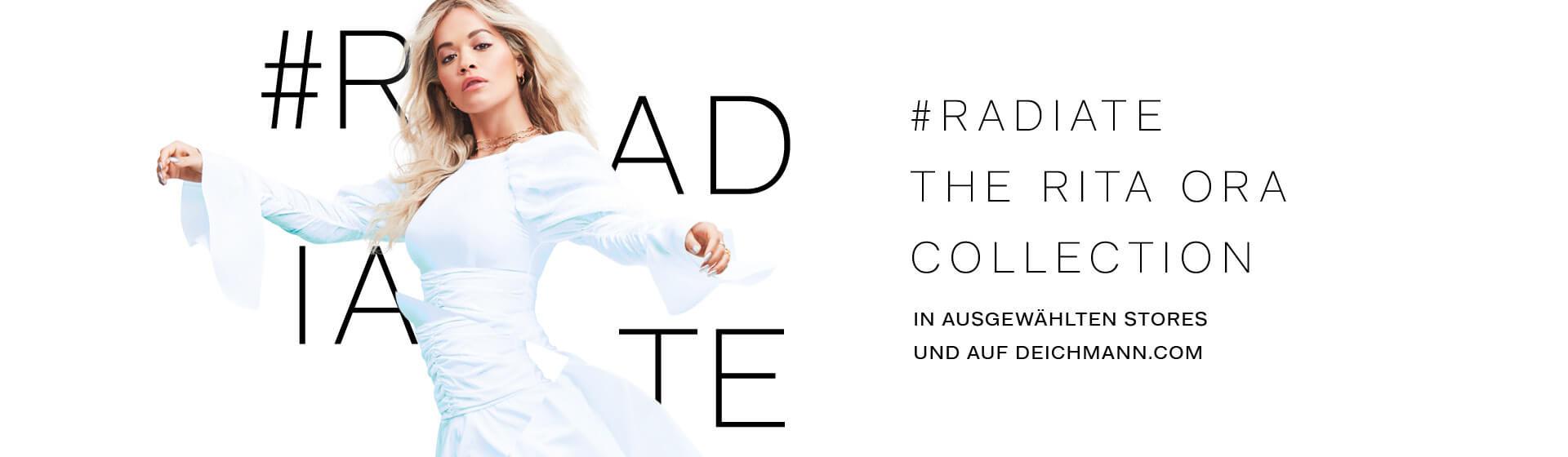 Rita Ora für Deichmann Kollektion