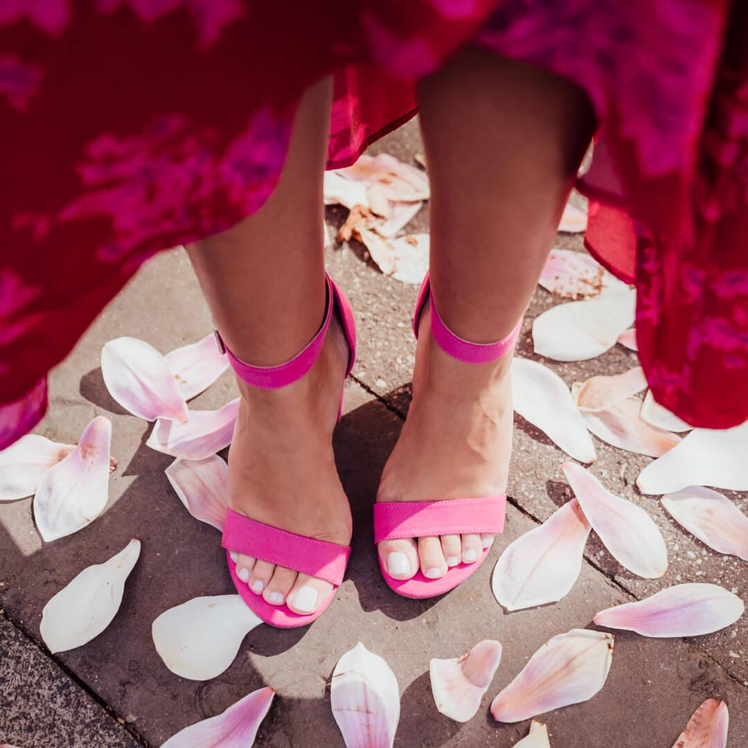 Lookspiration Sandaletten pink