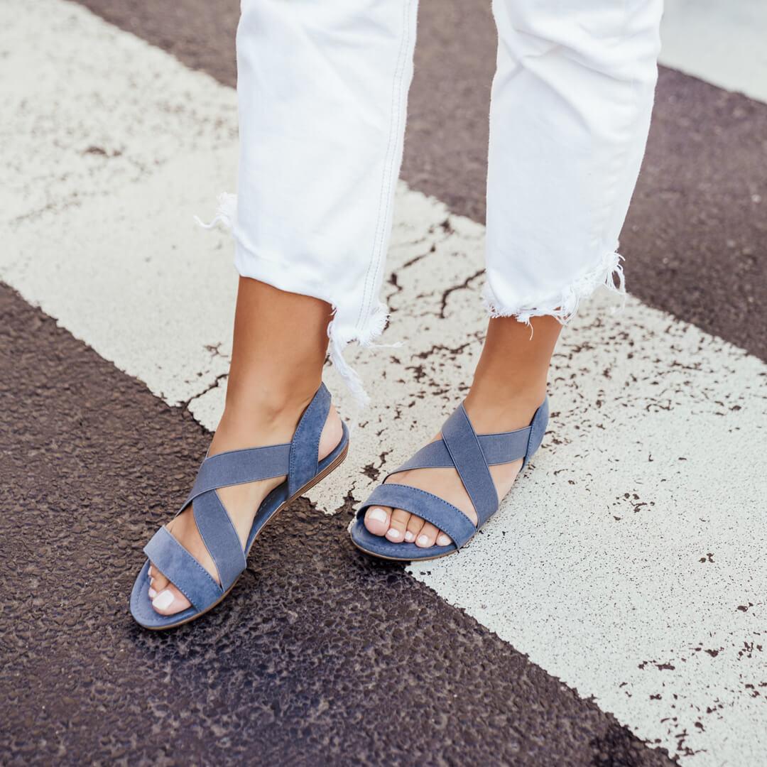 Lookspiration Sandale blau