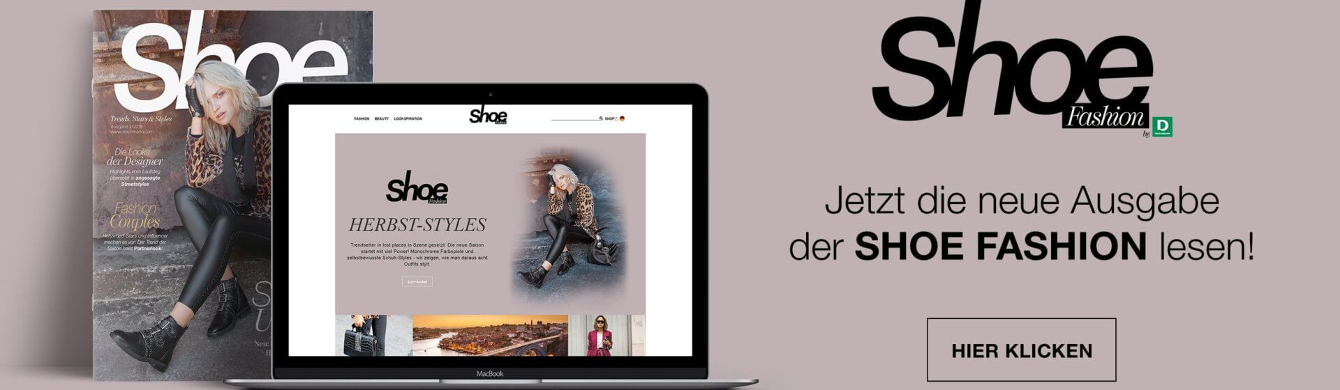 Shoe Fashion-Magazin jetz im Shoelove-Blog