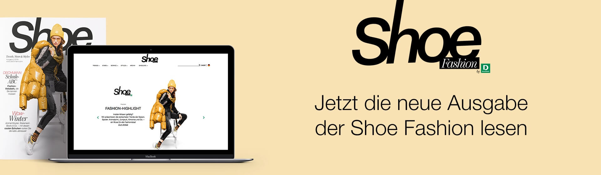 Die neue Shoe Fashion ist online!