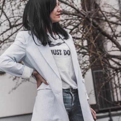 Frühlings-Must-Have : Oversize-Blazer in Trendfarben Shoelove Deichmann
