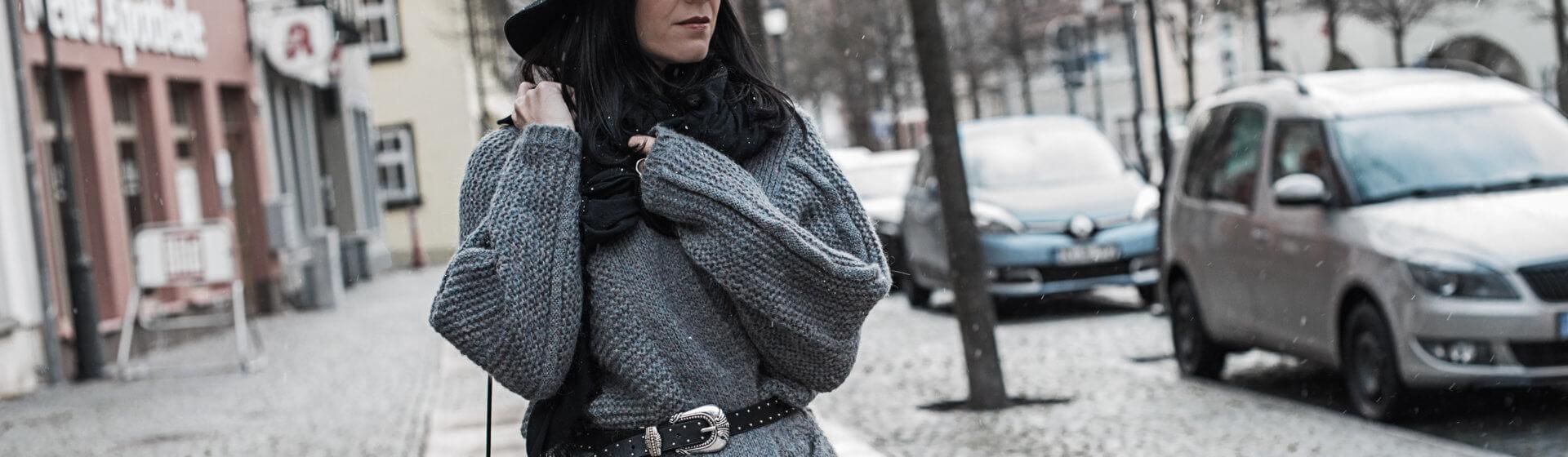 Grobstrick - gemütlich und stylish kombiniert Shoelove Deichmann