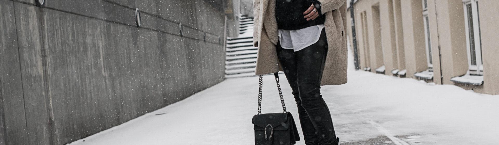 Wie du Lederleggins im Winter kombinierst Shoelove Deichmann
