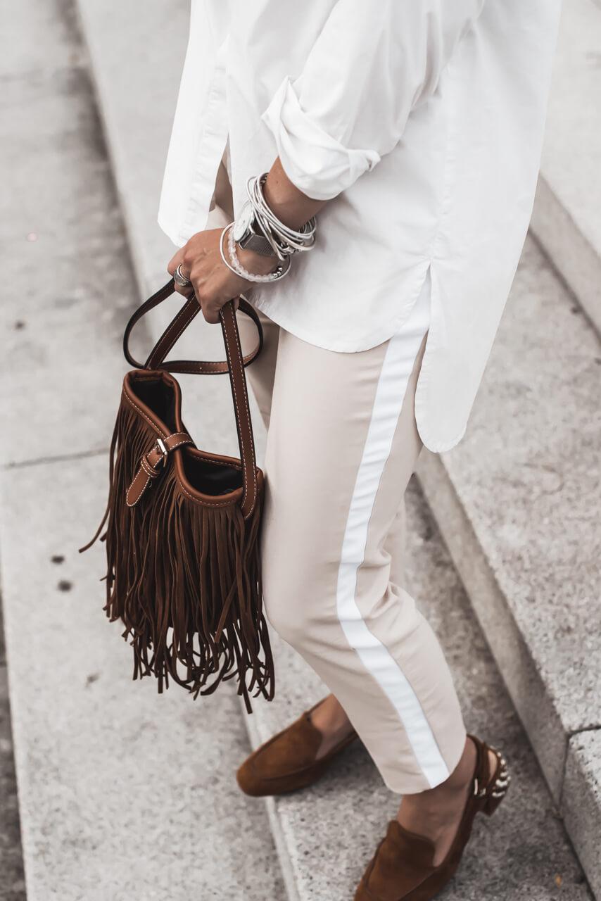 Zeitloses Must-Have eine weiße Oversize Bluse Shoelove Deichmann