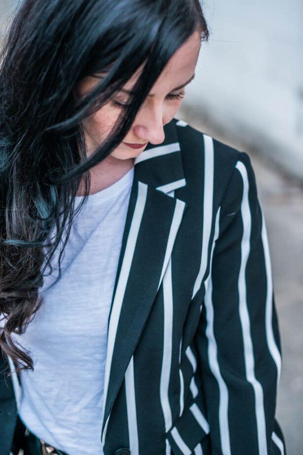 Schwarz Weiß Look gar nicht langweilig Trendblog Deichmann