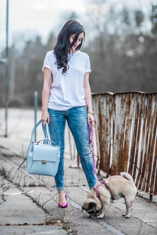 Ein weißes Shirt - das beste Basic Teil Trendblog Deichmann