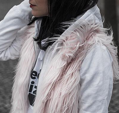 Trendteile aus Fake Fur kombinieren Shoelove Deichmann