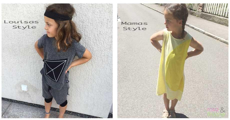 Wenn der Modegeschmack der Tochter nicht mit dem eigenen überein ...