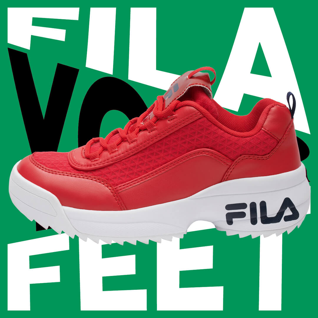 Futuristisch retro: FILA