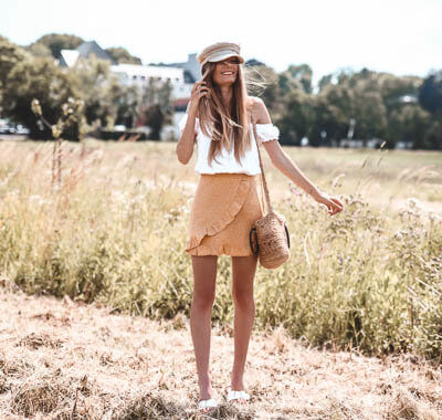 Gelb im Sommer: Outfit Inspiration