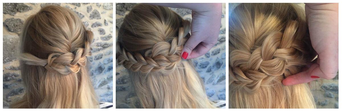 Hair Tutorial Half Braid 3