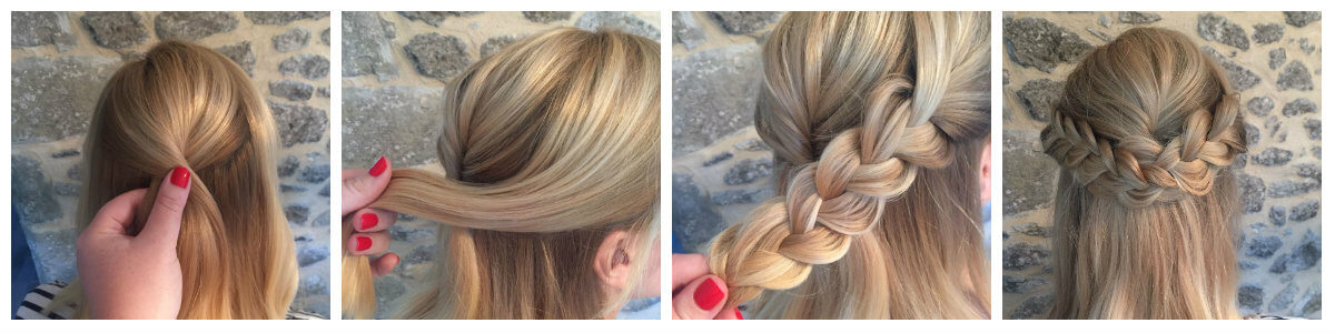 Hair Tutorial Half Braid Beitragsbild