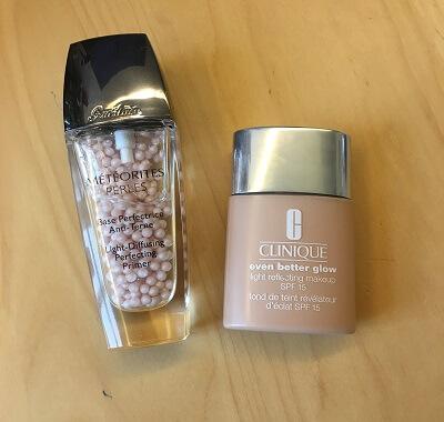 Herbst Makeup und Primer