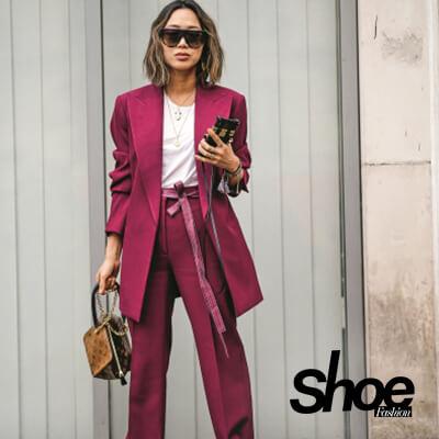Hosenanzug-Trend in der aktuellen Shoe Fashion