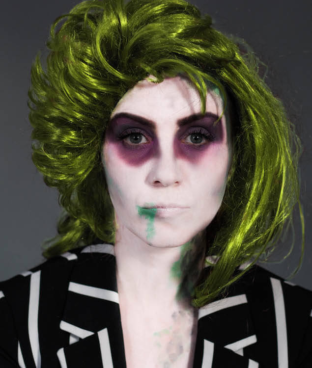 Halloween Make Up : Beetlejuice Shoelove Deichmann