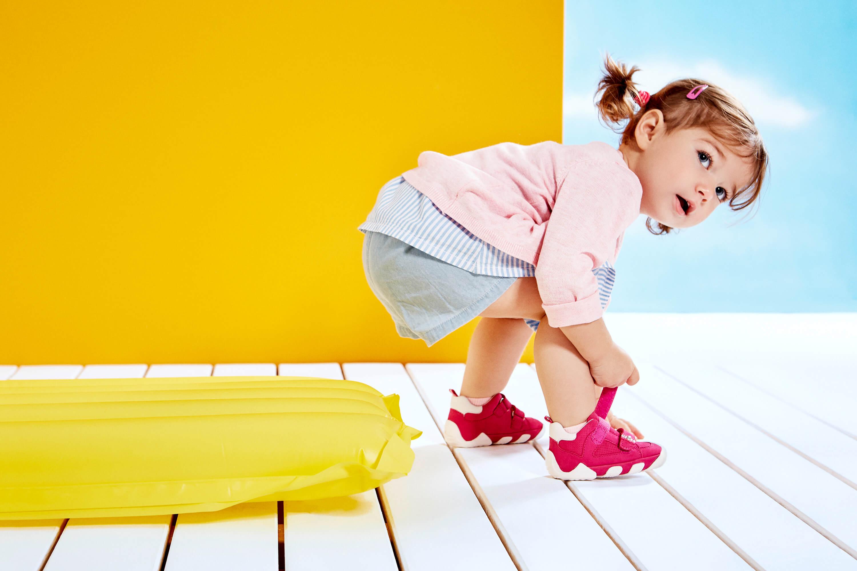 Schuhgröße messen Lauflernschuhe