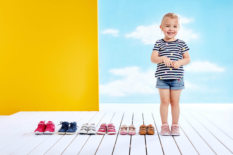 Schuhgröße messen Länge und Breite