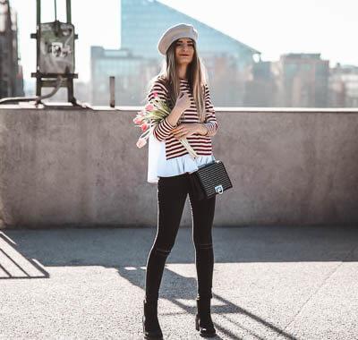 Parisienne Look kombinieren